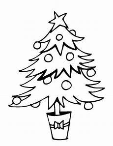 Malvorlage Weihnachtsbaum Kostenlose Malvorlage Weihnachten Weihnachtsbaum Im Topf