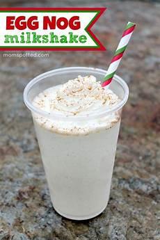 easy eggnog milkshake recipe mom spotted pins eggnog