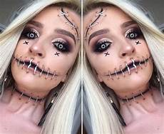 scary stitches makeup idea thefastfashion