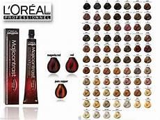 Loreal Richesse Semi Colour Chart L Oreal Professional Majirel Majiblond Amp Majirouge Hair