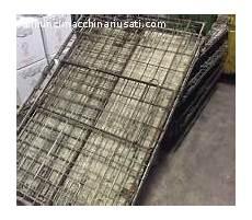 gabbie in ferro contenitori cassette usato annuncimacchinariusati