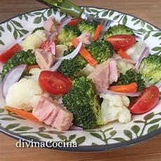 Ensalada De Brocoli Y Coliflor Light Receta De Ensalada De Br 243 Y Coliflor Divina Cocina