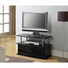 designs2go quot tv stand with two cabinets for tvs up to 36