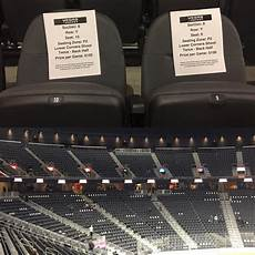 Las Vegas Golden Knights Depth Chart There Are Papers Attached To Seats At T Mobile Arena Still