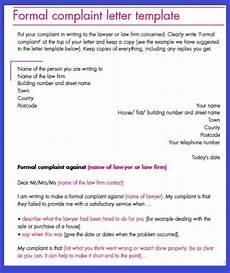 Formal Complaint Letters Business Letter Sample November 2012