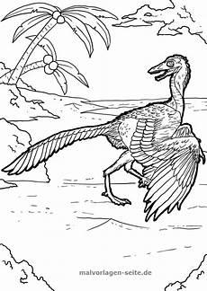 malvorlage archaeopteryx malvorlagen ausmalbilder