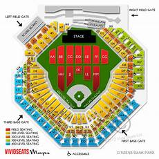 Citizens Bank Seating Chart Billy Joel At The Ballpark Rateyourseats Com