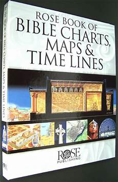 Rose Publishing Charts Rose Book Of Bible Charts Maps And Time Lines Rose