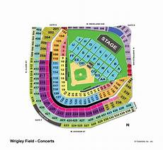 Wrigley Field Concert Seating Chart Dead And Company Wrigley Field Chicago Il Seating Chart View