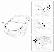 Hyundai Elantra Adjustment Hood Repair Procedures