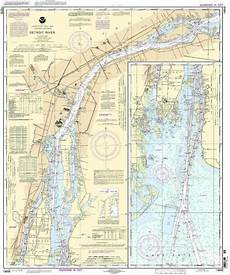 Noaa Charts For Sale Sell Noaa Chart Detroit River 58th Edition 14848