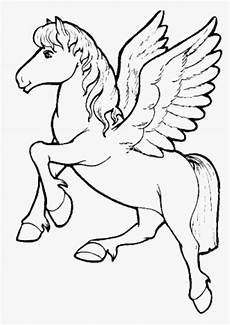 print unicorn coloring pages for children