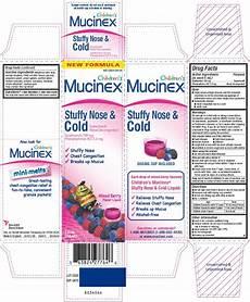 Children S Mucinex Dosage Chart By Weight Childrens Mucinex Stuffy Nose And Cold Solution Reckitt