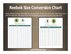 Reebok Swimsuit Size Chart Shop Your Favorite Shoes With The Help Of Shoe Size