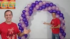 arco de globos como hacer un arco de globos decoracion con globos