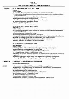 Hvac Project Manager Resumes Hvac Manager Resume Samples Velvet Jobs