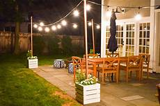 String Light Post 9 Stunning Exterior Lighting Ideas You Ll Want To Copy