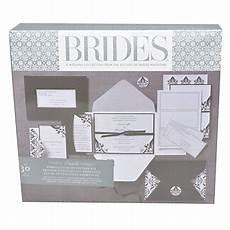 Office Depot Invitations Brides Premium Blackwhite Invitation Kit 5 X 7 Pack Of 30