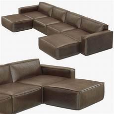 Modular Sofa Sectionals 3d Image by Rh Modern Como Modular Customizable Sectional Sofa 3d