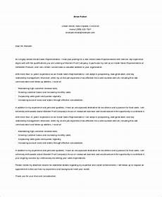 Cover Letter For Inside Sales Position Free 10 Sample Sales Cover Letter Templates In Ms Word Pdf