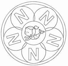 www kinder malvorlagen buchstaben mandala ausmalbild mandalas mandala buchstabe n zum ausmalen