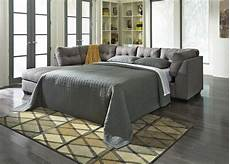 maier grey fabric sectional sleeper sofa a sofa