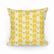 Yellow Accent Pillows For Sofa Png Image by Yellow Floral Chevron Pattern Pillows Human