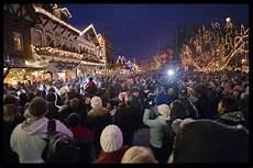 Leavenworth Wa Tree Lighting Christmas Tree Lighting In Leavenworth Wa Urban Life