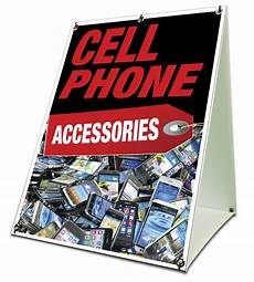 Cell Phone Store Signs Cell Phone Accessories Sidewalk A Frame 18 Quot X24 Quot Outdoor