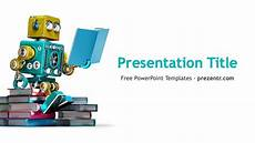 Design Of Machine Elements Powerpoint Free Machine Learning Powerpoint Template Prezentr Ppt
