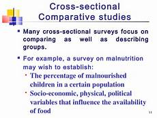 Cross Sectional Study Design Examples Study Designs