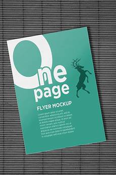 One Page Flyer One Page Flyer Mockups On Behance