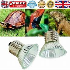 Uvb Led Reptile Light Reptile Light Bulb Uv Heat Lamp Tortoise Turtle Calcium