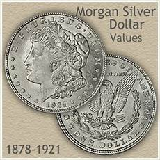 1902 Silver Dollar Value Chart Rising Morgan Silver Dollar Values