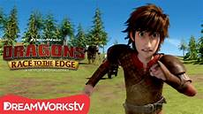 hiccup on the run dragons race to the edge