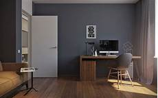 Dark Office 5 Ideas For A One Bedroom Apartment With Study Includes