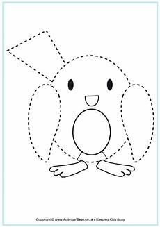 Animal Patterns To Trace Robin Tracing Christmas Printables For Kids