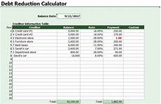 Debt Snowball Calculator Debt Snowball Calculator Template Excel Excel Tmp