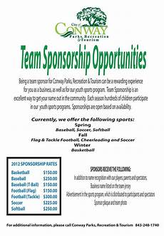 Click Here To Download A Team Sponsorship Form
