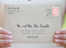 How To Label An Envelope Envelope Template Envelope Address Template Wedding Envelope