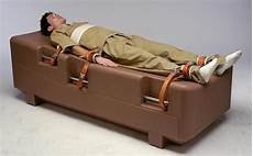 isolation bed humane restraint