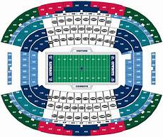 Purdue Stadium Seating Chart Breakdown Of The At Amp T Stadium Seating Chart Dallas Cowboys