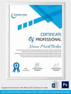 Free Online Certificate Templates For Word Word Certificate Template 31 Free Download Samples