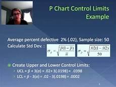 P Chart Vs C Chart P Charts And C Charts Video 42 Youtube