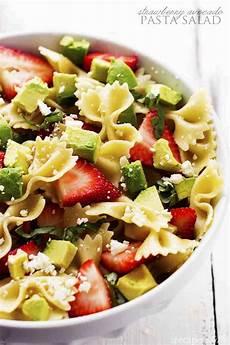Recipes For Pasta Salad Strawberry Avocado Pasta Salad The Recipe Critic