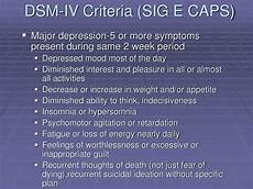 Sig E Caps Ppt The Diagnosis And Treatment Of Depression Powerpoint