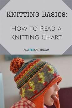 knitting basics how to read a knitting chart