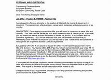 Job Transfer Letter From Employer Transfer Offer Letter 7 Samples In Word And Pdf