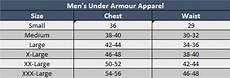 Under Armour Sizing Chart Mens Sizing Chart Soccer Village