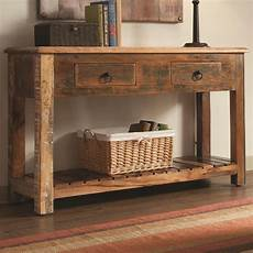 wood console table a great way to practice the of
